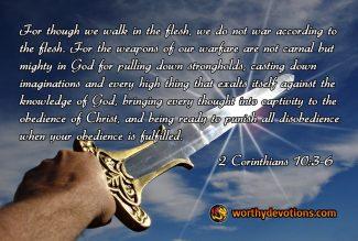 Are you an armor-bearer?