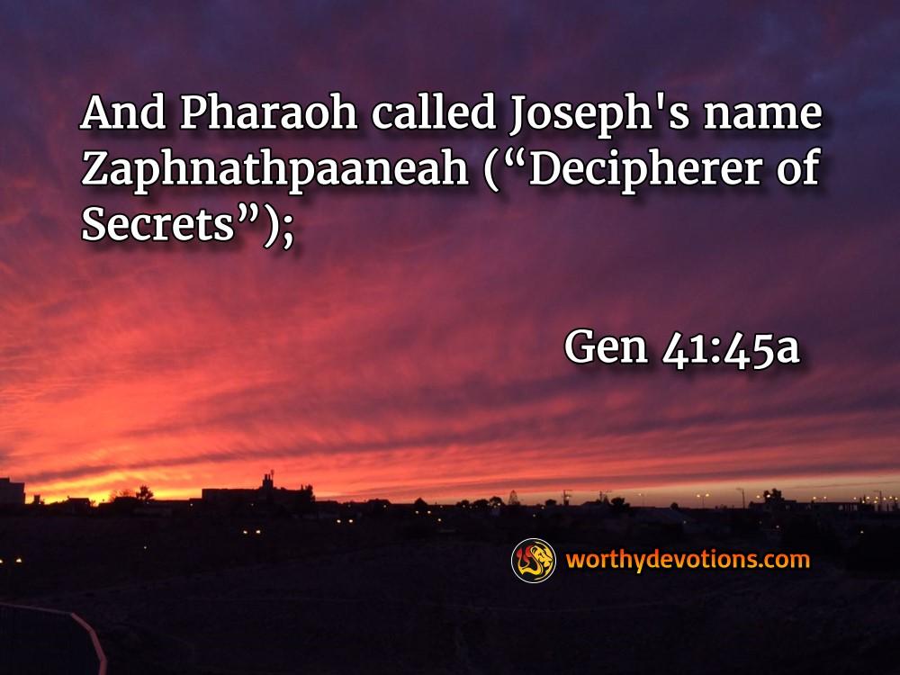 Revealer Of Secrets Worthy Christian Devotional Daily
