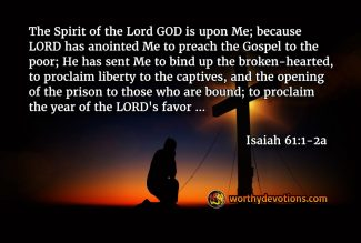 Hold on to the Freshness of the Gospel!